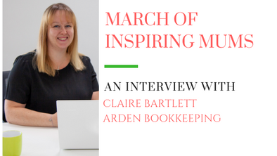 March of Inspiring Mums - Claire Bartlett