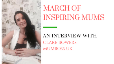 March of Inspiring Mums - Clare Bowers