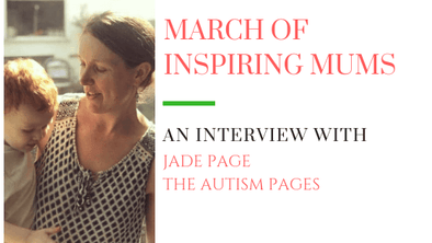 March of Inspiring Mums - Jade Page