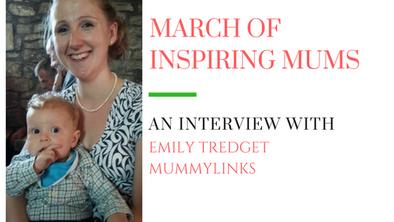 March of Inspiring Mums - Emily Tredget