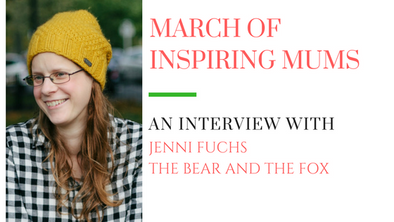 March of Inspiring Mums - Jenni Fuchs