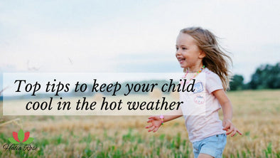 Fun Top Tips to keep your child cool in the hot weather