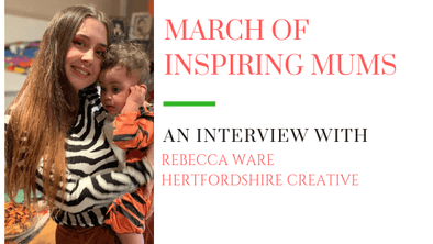 March of Inspiring Mums - Rebecca Ware