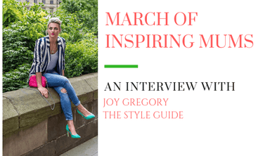 March of Inspiring Mums - Joy Gregory