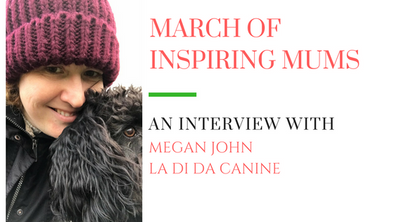March of Inspiring Mums - Megan John