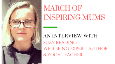 March of Inspiring Mums - Suzy Reading