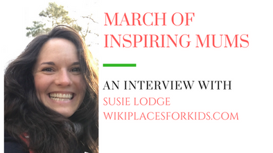 March of Inspiring Mums - Susie Lodge