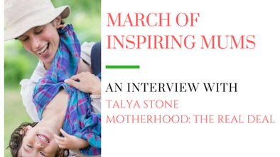 March of Inspiring Mums - Talya Stone