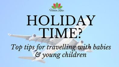 Flying with babies and young children - tips for a stress free journey