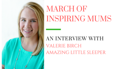 March of Inspiring Mums - Valerie Birch