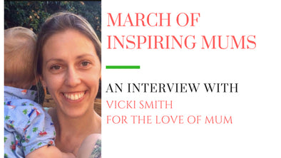 March of Inspiring Mums - Vicki Smith