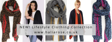 Autumn / Winter Colour Trends – Introducing the Halia Rose Lifestyle Clothing Collection