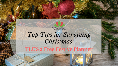 Top Tips for Surviving Christmas PLUS a Free Festive Planner