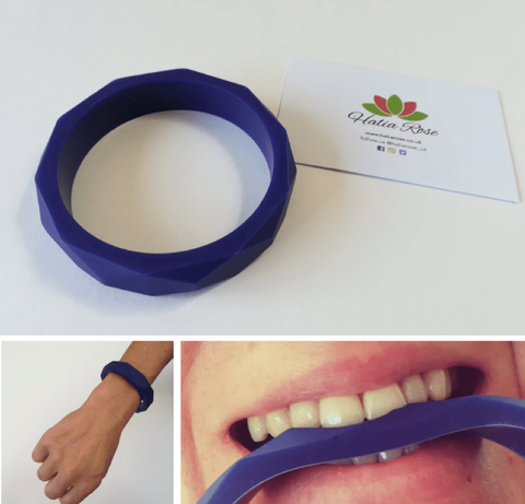 Halia_Rose_Hex_bracelet_sensory_aid_autism_chewable_jewellery