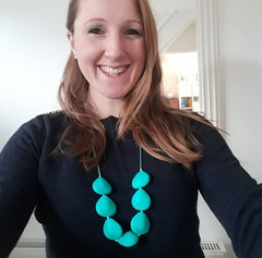 Halia_rose_march_of_inspiring_mums_emily_mummylinks_Petals_necklace_aqua