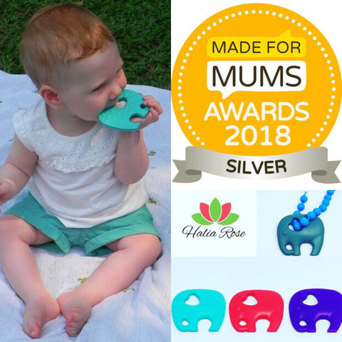 Halia_Rose_award_winning_best_teether_in_UK_elephant_teething_toy