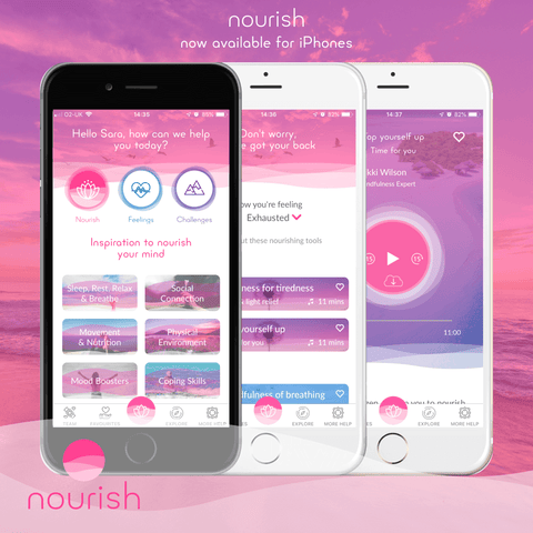 Halia_Rose_march_of_inspiring_mums_Sara_Campin_Nourish_app_selfcare_for_Mums_burnout