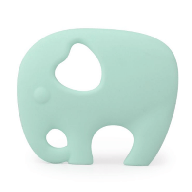 Elephant Teether in Apple Mint