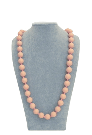 Bola Necklace in Peach