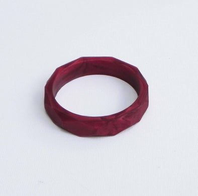 Hex Bracelet in Ruby - Halia Rose