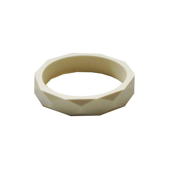 Hex Bracelet in Vanilla Cream - Halia Rose