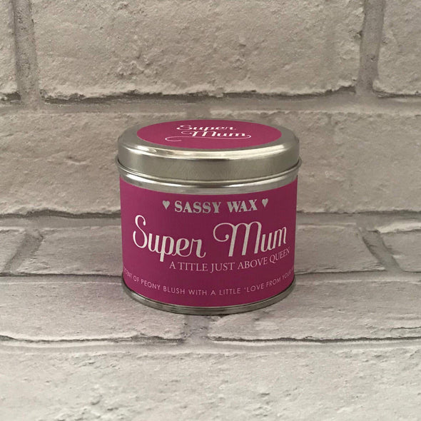 Super Mum Candle - Halia Rose