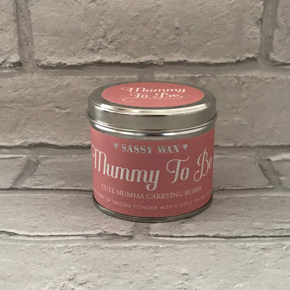 Mummy to Be Pregnancy Candle - Halia Rose