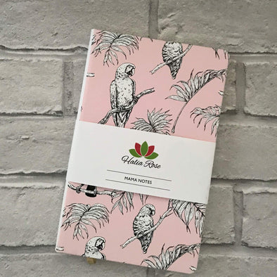Mama Notes Notebook - Birds of Paradise - Halia Rose