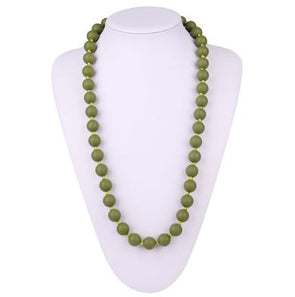 Bola Necklace in Army Green