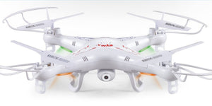 Testing the Syma X5C quadrupter