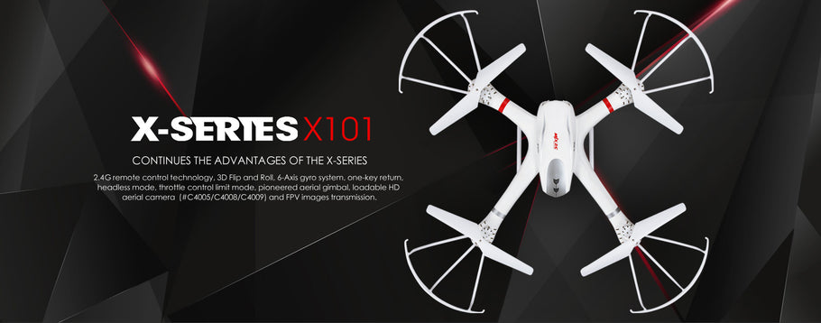 Drone MJX x101: A stable and impressive drone for its price