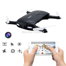 Pocket Selfie Drone JJRC H37 Elife Fold Portable Photography Wifi FPV With 0.3MP Camera Phone Control RC Drones RTF Helicopter
