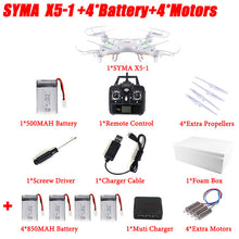 100% Original SYMA X5C (Upgrade Version) RC Drone 6-Axis Remote Control Helicopter Quadcopter With 2MP HD Camera or X5 No Camera