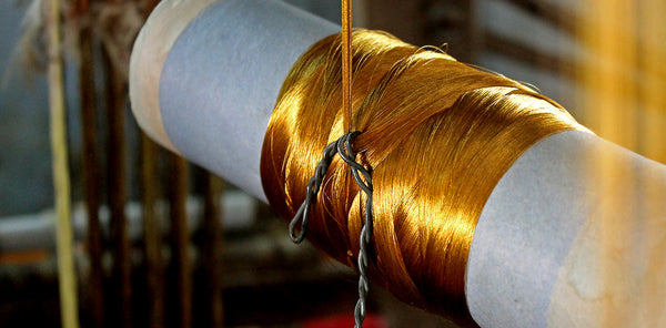 How to knowl the real chanderi silk?