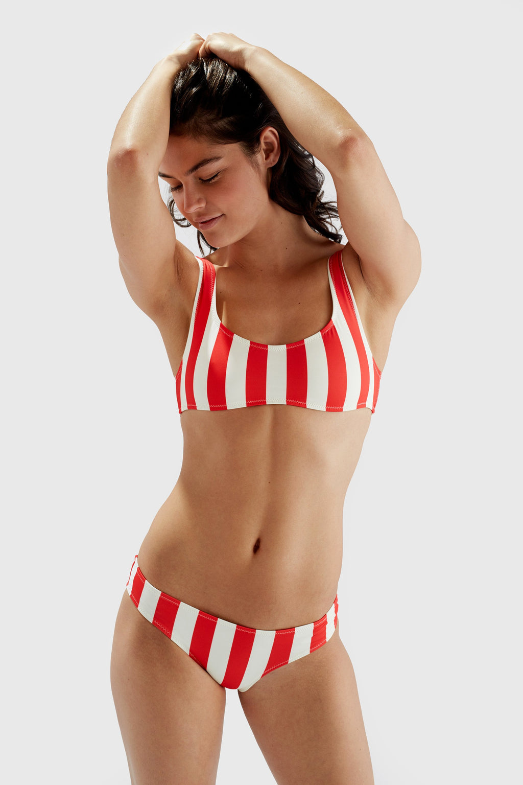 The Elle in Cherry Stripe