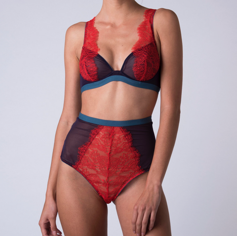 Dora Larsen High Rise Knicker at Jamila Intimates Kuwait