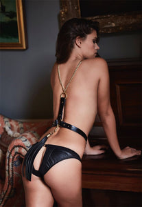 Nina Harness Belt with Chain & Ponytail