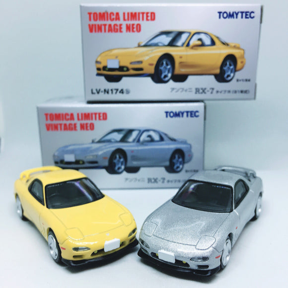 Takara Tomy Tomica | Mazda RX7 FD3S | Tomica Limited Vintage Neo TOMYTEC | Combo