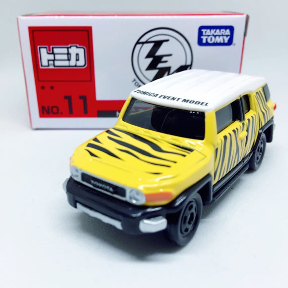 Takara Tomy Tomica トミカ | 11 Toyota FJ Cruiser Safari Specification | Tomica Event Model 2017