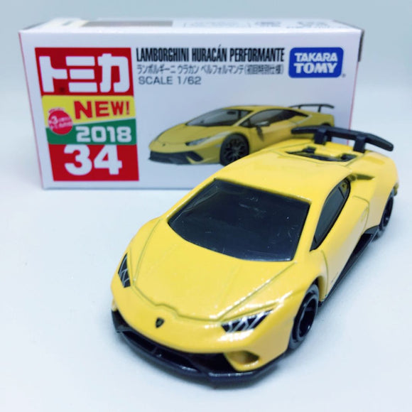 Takara Tomy Tomica | No. 34 Lamborghini Huracan Performante | First Edition - Tomica Hong Kong
