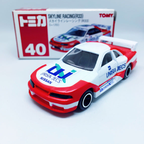 Tomica Takara Tomy Toysトミカ | No. 40 Skyline Racing (R33)