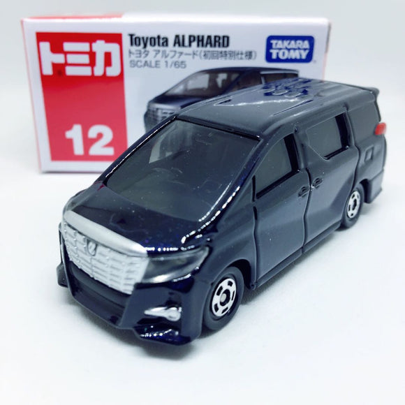 Tomica Takara Tomy Toysトミカ | No. 12 Toyota Alphard (Black) First Edition | Rare