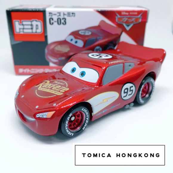 Takara Tomy Tomica | C-03 Radiator Springs Lighting McQueen | Disney Pixar Cars