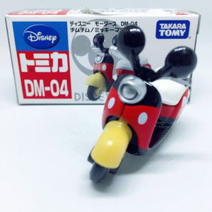 Takara Tomy Tomica | DM-04 Mickey Mouse Motorcycle | Disney Motors