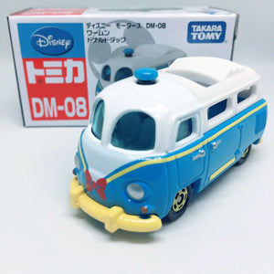 Takara Tomy Tomica | DM-08 Donald Duck Van | Disney Motors