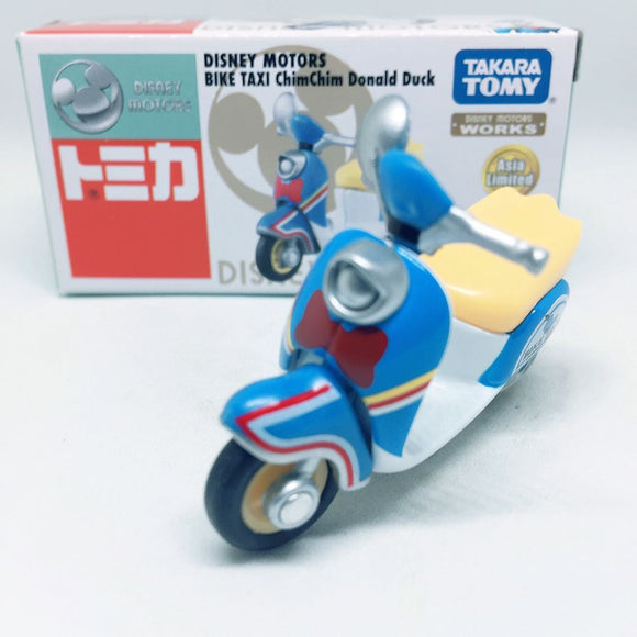 Takara Tomy Tomica | Donald Duck Bike Taxi | Disney Motors