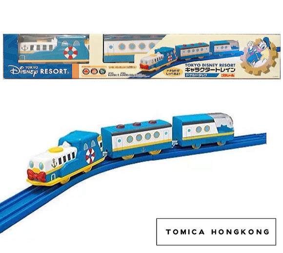 Takara Tomy Tomica | Donald Duck Train | Tokyo Disney Plarail Train | Japanese Limited Edition