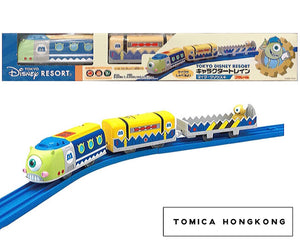 Takara Tomy Tomica | Monster University Mike 單眼仔 Plarail Train | Tokyo Disney Train | Japanese Limited Edition