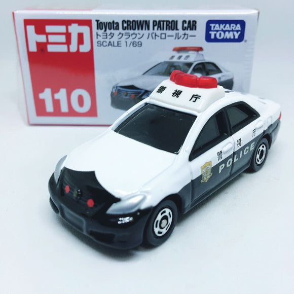 Takara Tomy Tomica | No.110 Toyota Crown Patrol Car