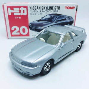 Takara Tomy Tomica | No. 20 Nissan Skyline GTR (Grey) | Made in Japan
